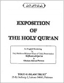 Exposition of Holy Quran